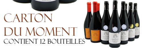 Carton 12 bouteilles Découverte du Vigneron Juliénas, Saint Amour et Moulin à Vent