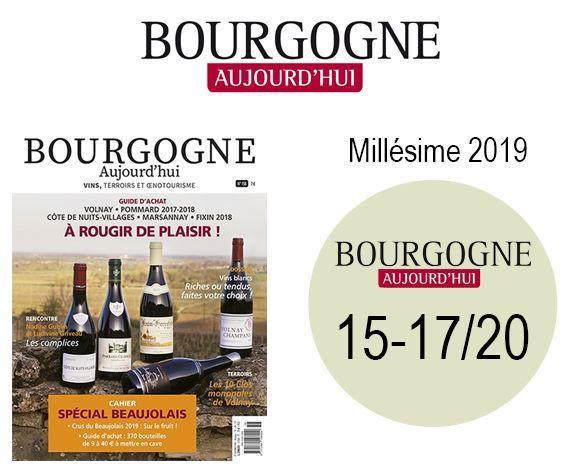 Presse Bourgogne Aujourd'hui avril 2021