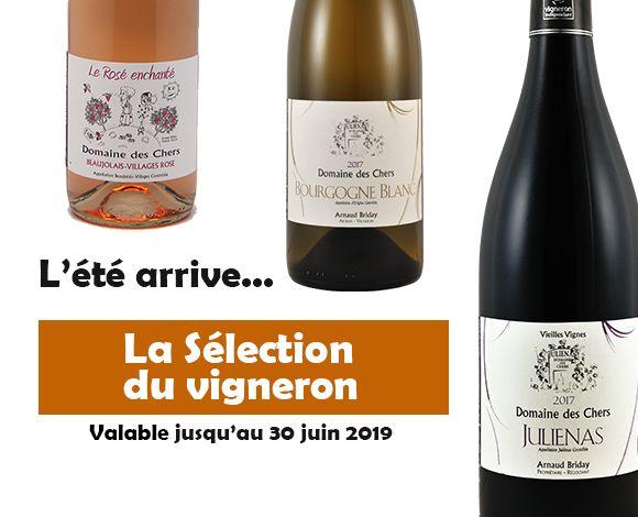La selection ete du vigneron domaine des chers Bourgogne Blanc