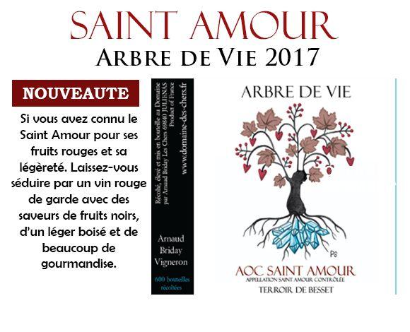 Saint Amour Arbre de vie 2017