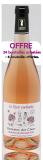 Le Rosé Enchanté - Bouteille 75cl (OFFRE MAI 2018 : 24 achetées + 6 offertes)